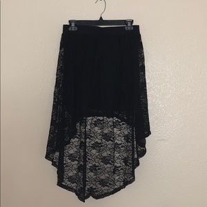 Beautiful Charlotte Russe high low skirt!